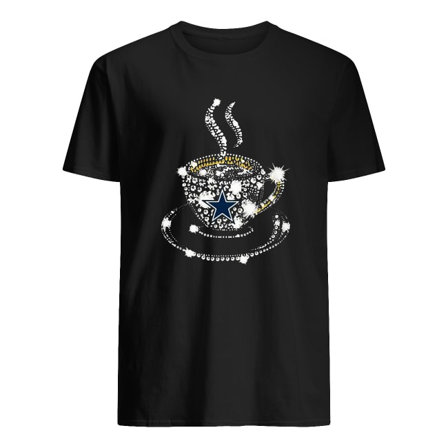 DALLAS COWBOY COFFEE CUP DIAMONDS SHIRT