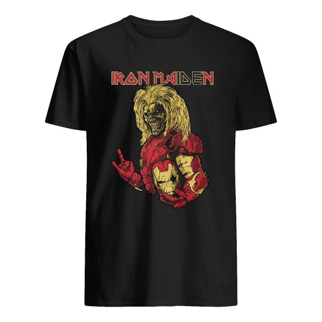 IRON MAIDEN MARVEL IRON MAN SHIRT