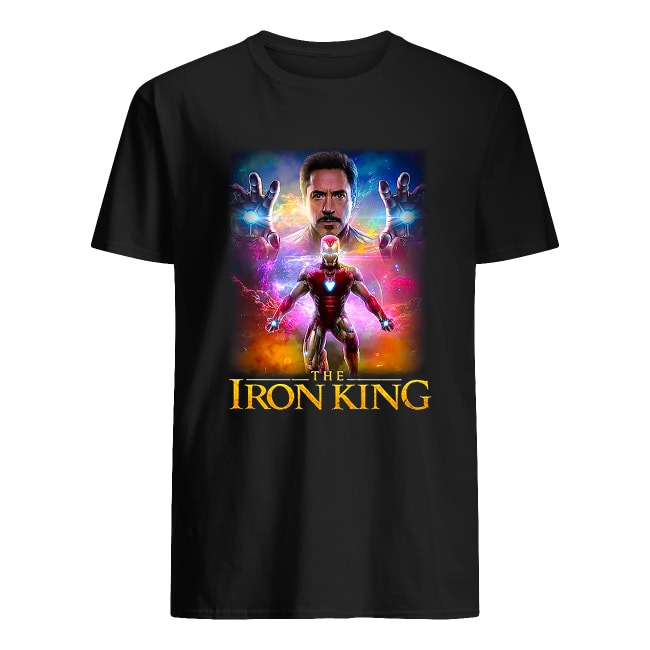 IRON MAN THE IRON KING TONY STARK SHIRT