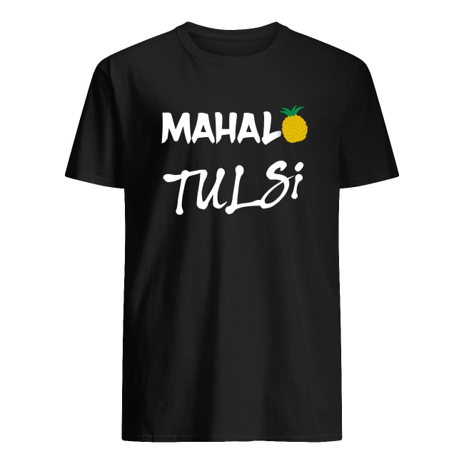 MAHALO TULSI GABBARD 2020 ELECTION BASEBALL SHIRT