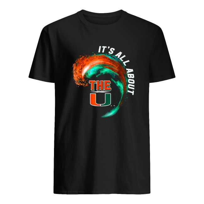 MIAMI HURRICANES WAVE - ALL ABOUT THE U SHIRT