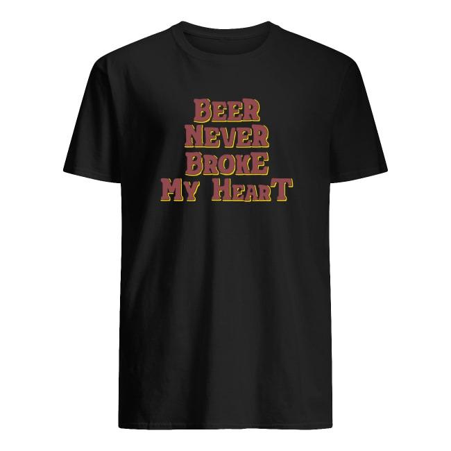 OFFICIAL BEER NEVER BROKE MY HEART T SHIRT