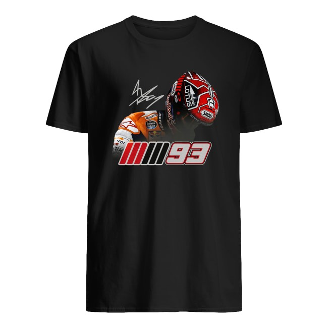 OFFICIAL MARC MARQUEZ MM93 SIGNATURE SHIRT