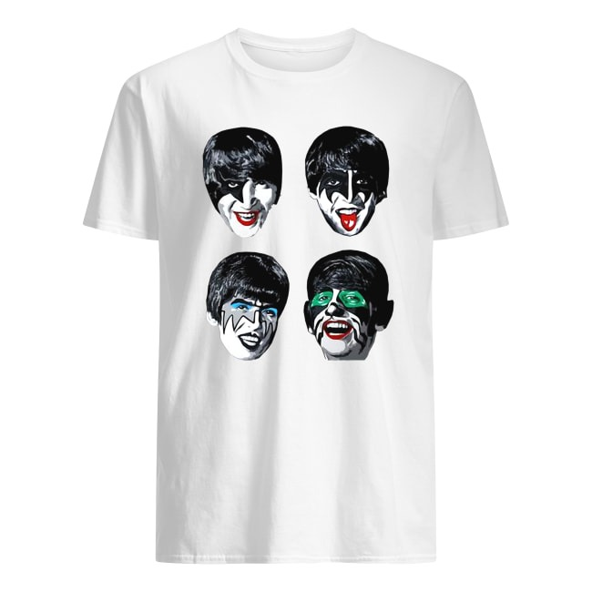 OFFICIAL THE BEATLES KISS SHIRT