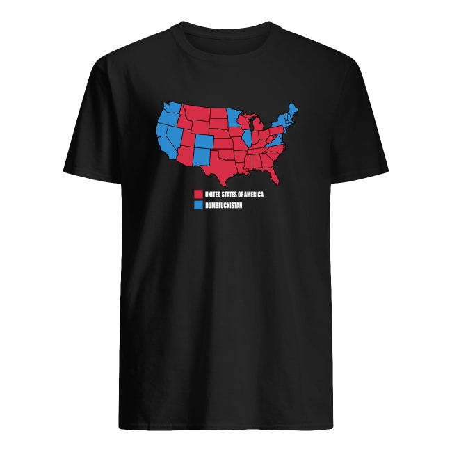 UNITED STATES OF AMERICA , DUMBFUCKISTAN SHIRT