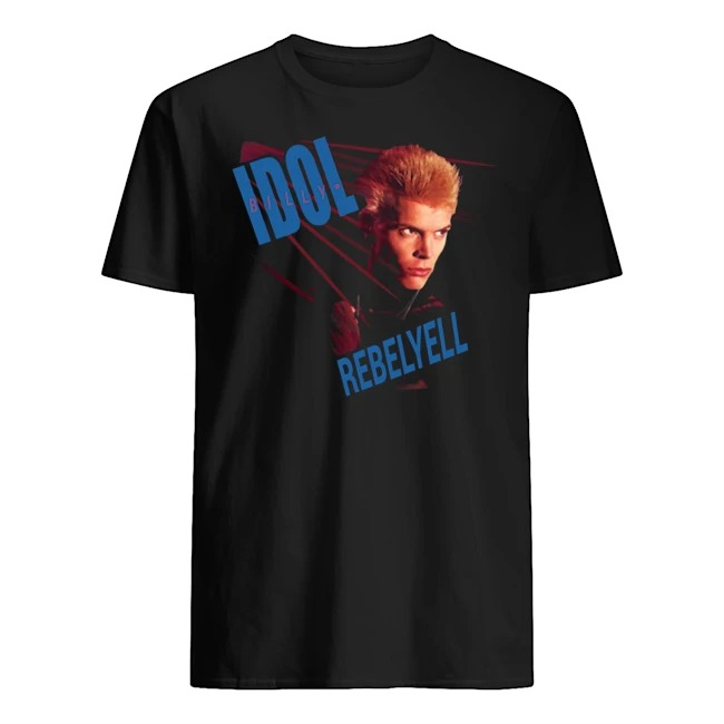 BILLY IDOL REBEL YELL SHIRT