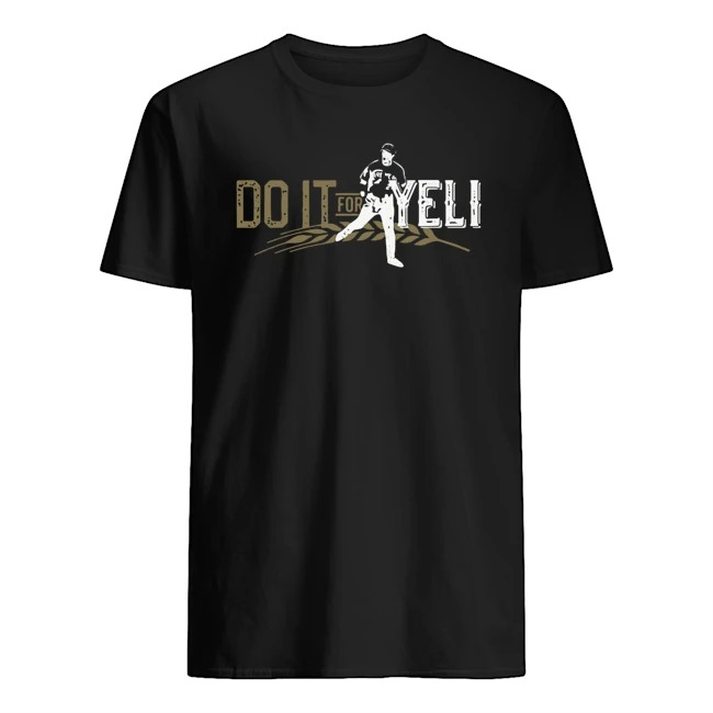 CHRISTIAN YELICH DO IT FOR YELI SHIRT